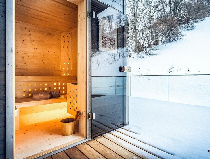 Sauna Winter